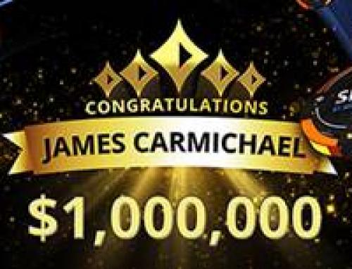 Джеймс Кармайкл стал первым миллионером в рамках акции SPINS от partypoker