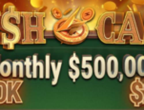 Новая акция сети GG Rush & Cash с призовым фондом 500 000$ стартует в октябре