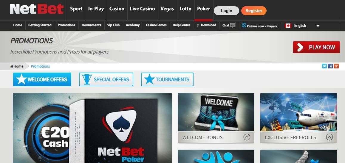 регистрация покер netbet